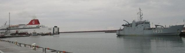 Wambola Visby sadamas 1