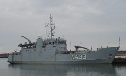 Wambola Visby sadamas 2